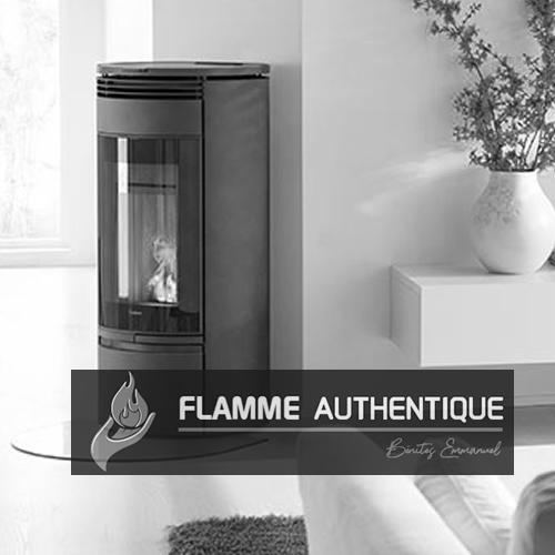 Flamme authentique